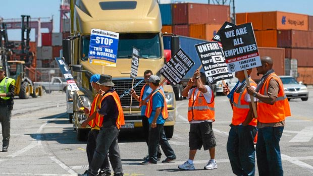 Expedited Freight California strike