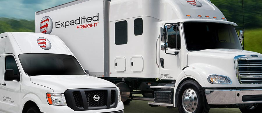 Expedited Carriers Vehicles