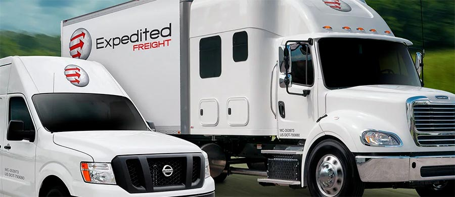 Expedited Freight Stockton, California
