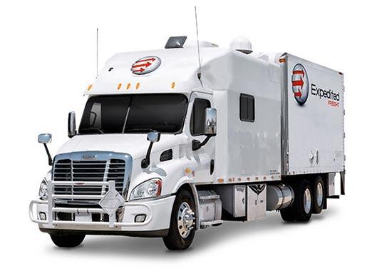 Hot Shot Service Vehicles